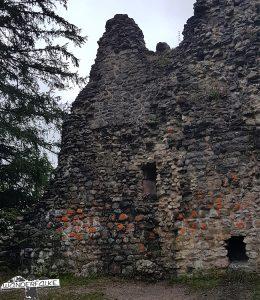 Ruine in Burgberg Sonthofen
