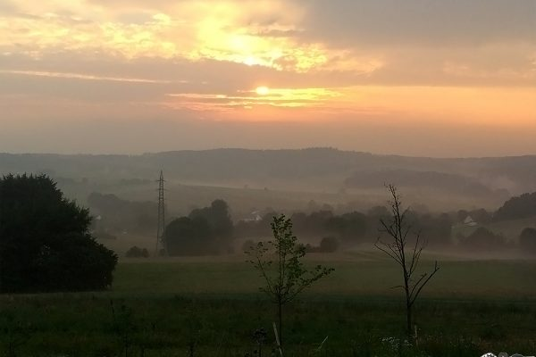 Morgenstimmung im Westerwald