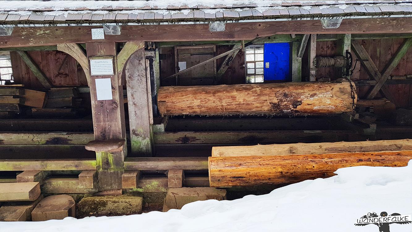 Klingenhofsäge von Hinterzarten Wanderweg