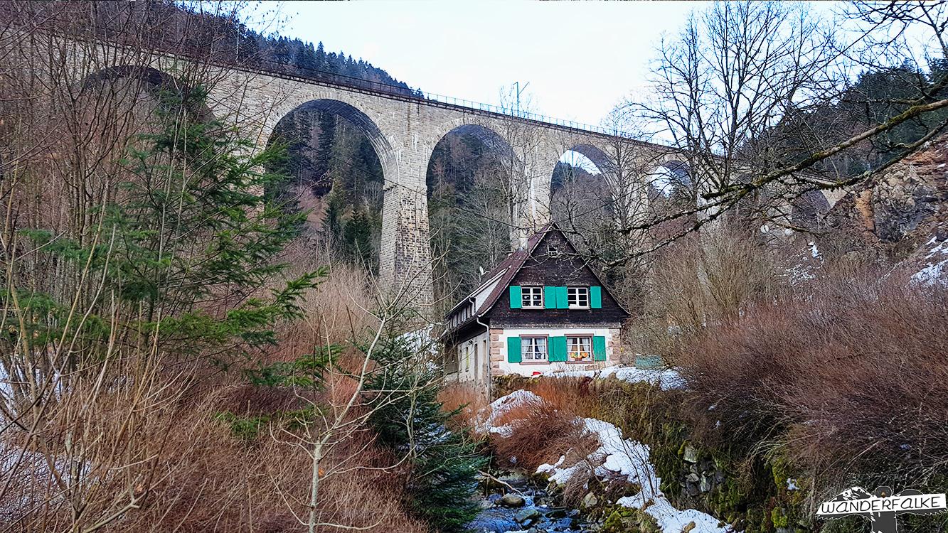 Ravennabrücke über die Ravennaschlucht bei Höllsteig