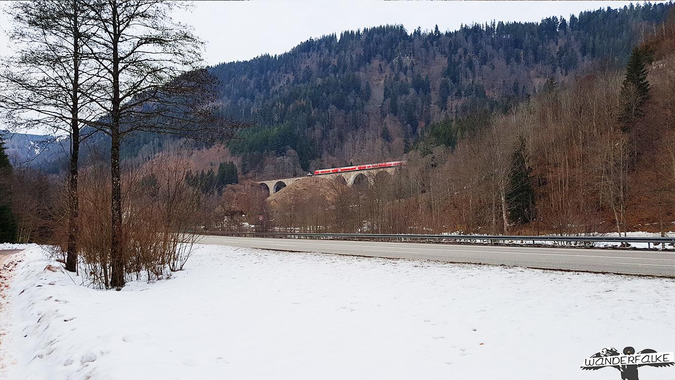 Ravennabrücke Viadukt aus der Ferne