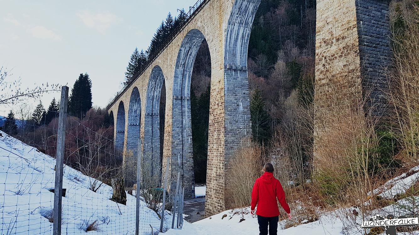 Viadukt Ravennabrücke bei Hinterzarten