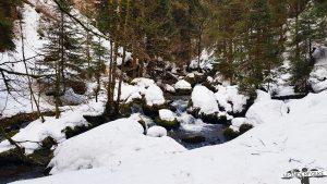verschneite Ravennaschlucht