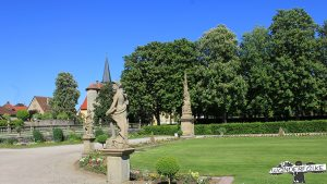 Schlossgarten Weikersheim Taubertal