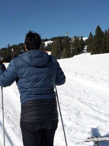 Skilanglauf am Feldberg im Hochschwarzwald Wanderfalke Online Härtetest