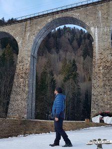 Wandern mit Wanderfalke Wanderführer in der Ravennaschlucht
