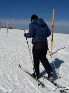 Am Feldberg Maier Sports Härtetest beim Langlauf mit der Softshellhose Tech Pants M Wanderfalke Online