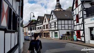Fachwerkhäuser in Heimbach Nationalpark Eifel