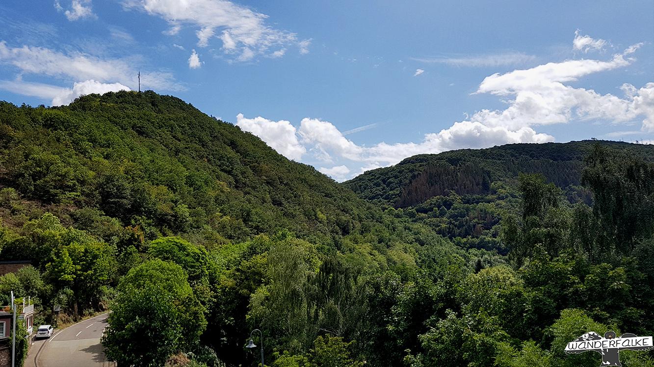 Burg Hengebach im Nationalpark Eifel Heimbach Wildnis Trail