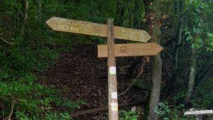 Wildnis Trail Etappe 3 von Gemünd nach Heimbach Wanderschild