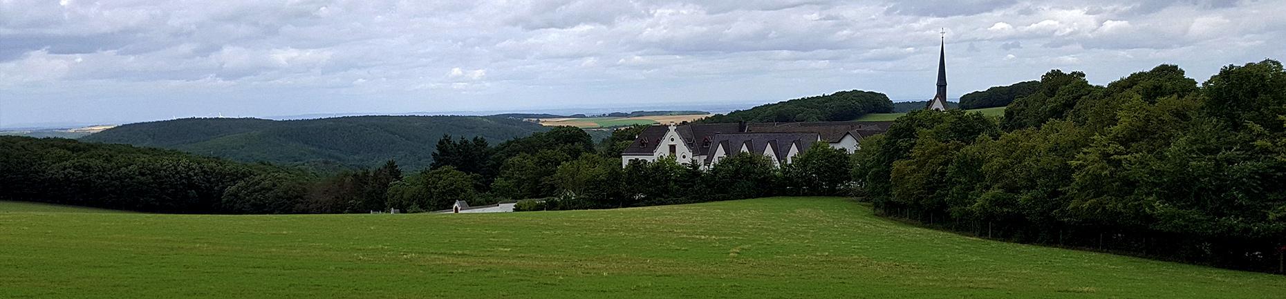 Nationalpark Eifel Kloster Abtei Maria Wald Rursee Wildnis Trail