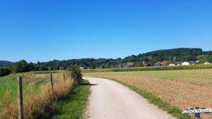 Rur-Radweg Nordeifel Kreuzau Winden Buntsandsteinroute