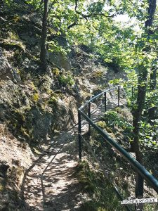 Buntsandsteinroute Nordeifel Wanderweg wandern Felsen Pfad Nationalpark Eifel