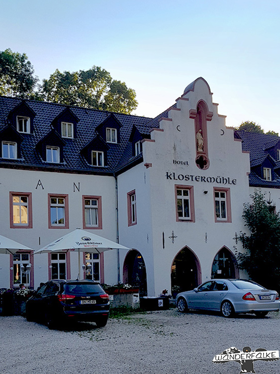 Klostermühle Heimbach Nationalpark Eifel Buntsandsteinroute Nordeifel Wanderweg wandern
