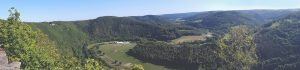 Buntsandsteinroute Rurschleife Nordeifel wandern Wanderweg Nationalpark Eifel