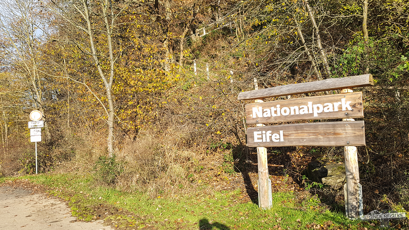 Rurberg Rursee Nationalpark Eifel Buntsandsteinroute Wandern