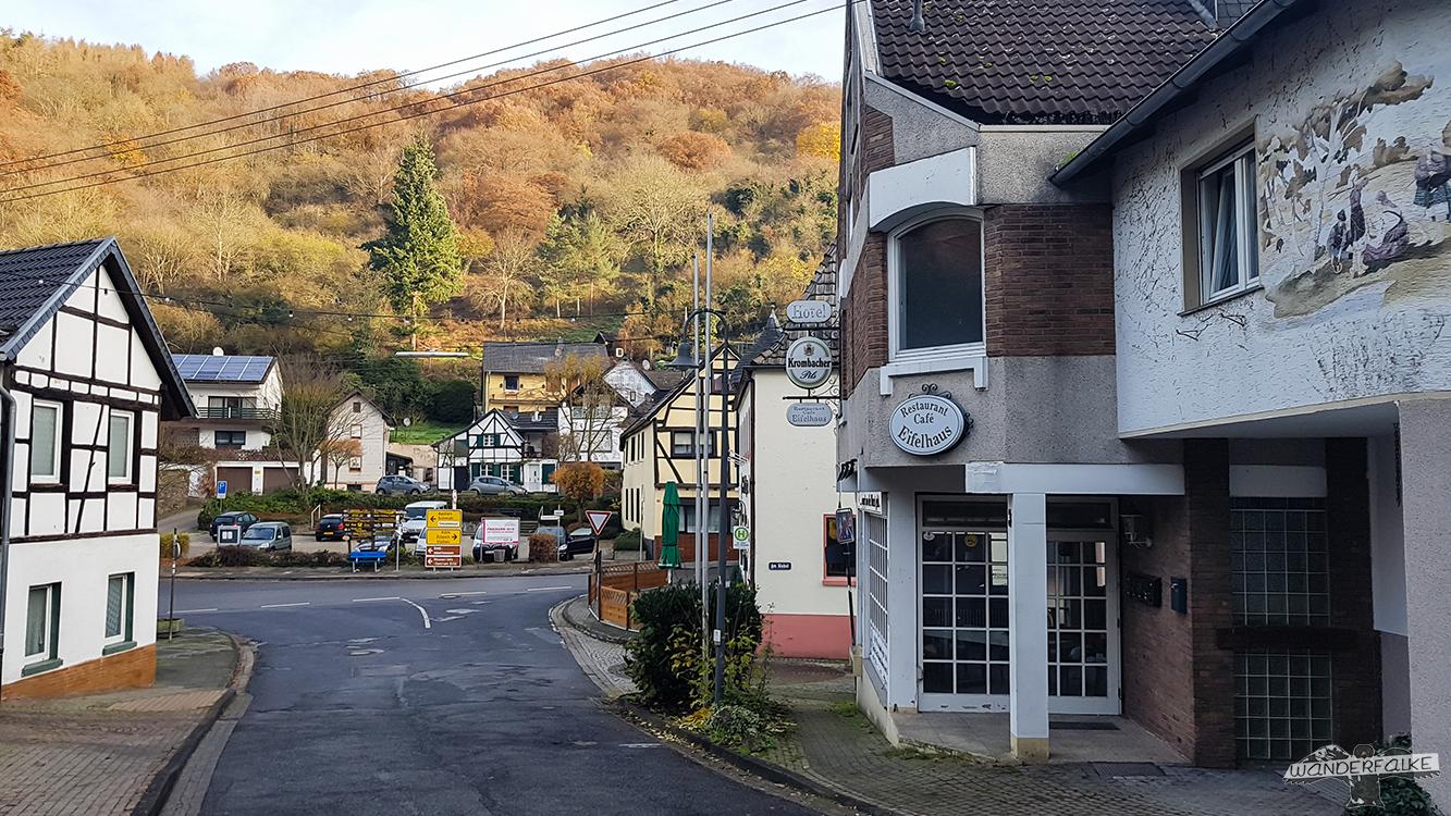Stadt Heimbach Rureifel Buntsandsteinroute Nationalpark Eifel