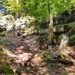 Felsformationen Felsenweg 6 NaturWanderpark delux Teufelsschlucht Ernzen Echternach