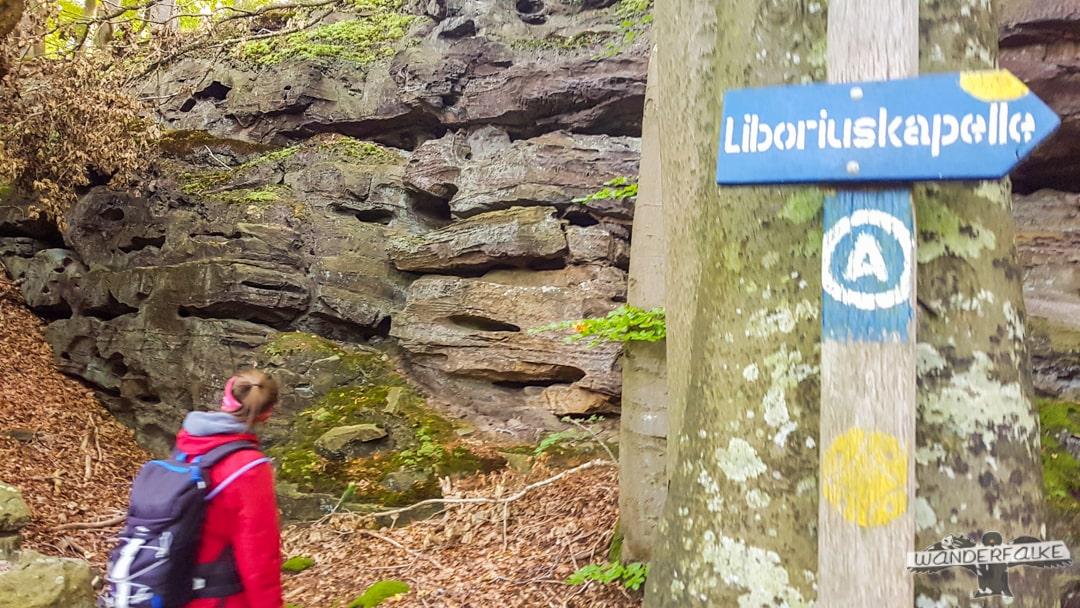 Liboriuskapelle Ernzen Echternach Wanderfalkeonline Wandern Naturpark Südeifel Teufelsschlucht