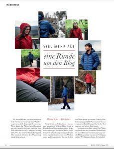 Wanderfalkeonline im Maier Sports Magazin