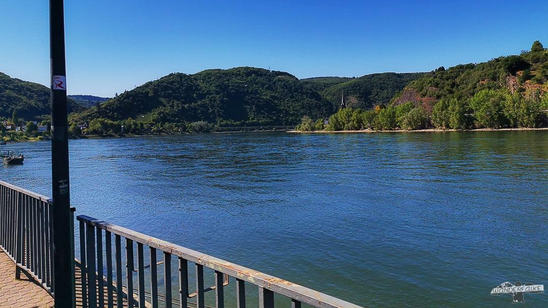 Boppard am Rhein mit Rheinburgenweg