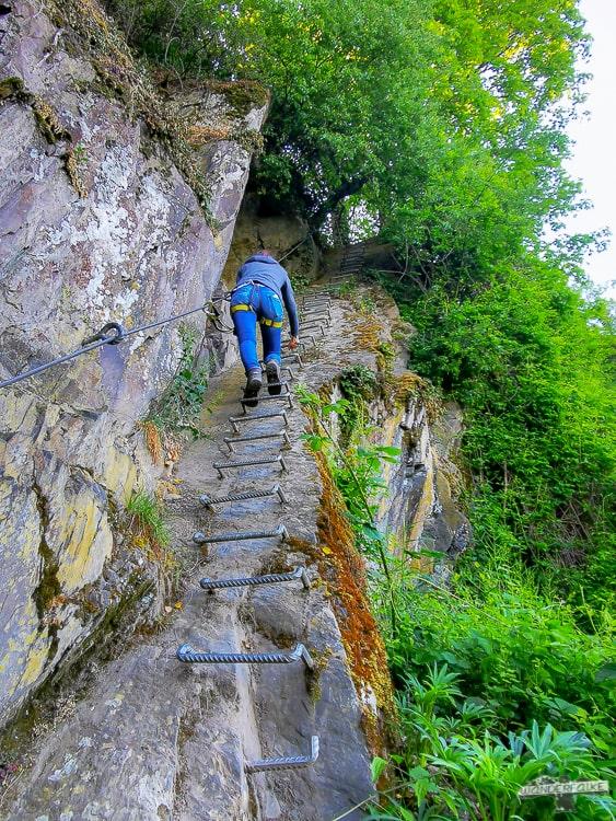 Mittelrhein Klettersteig Boppard Traumschleife Welterbe Mittelrheintal