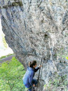 Mittelrhein Klettersteig Traumschleife Steile Felsen