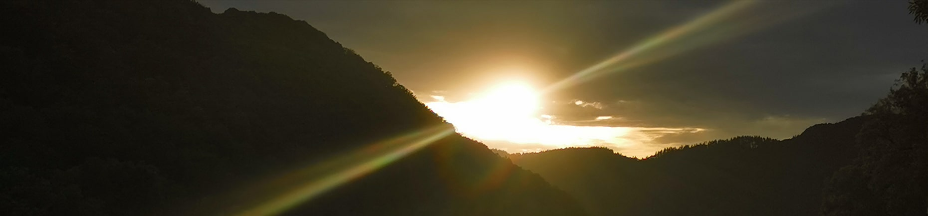 Sonnenuntergang an der Mosel Calmont-Region