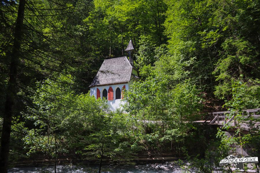 Kapelle St Johann und Paul am Eisgraben in Hirschau, Königssee