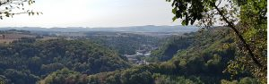 Aussicht auf die Stadt Burgbrohl