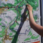 Karte Traumpfad Höhlen-und Schluchtensteig