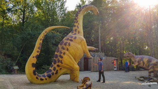 Dinosaurierpark Teufelsschlucht Ernzen Naturpark Südeifel Wanderfalkeonline Wandern