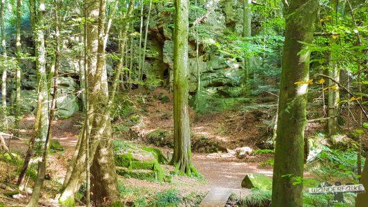 Felsenkammer Felsenweg 6 NaturWanderpark delux Teufelsschlucht Ernzen Echternach