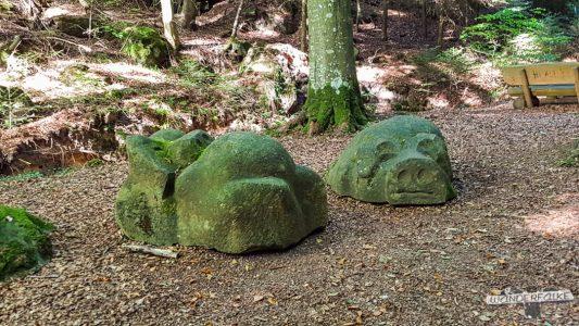 Schweinestall Felsenweg 6 NaturWanderpark delux Teufelsschlucht Ernzen Echternach