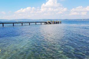 Steg Insel Mainau Unteruhldingen